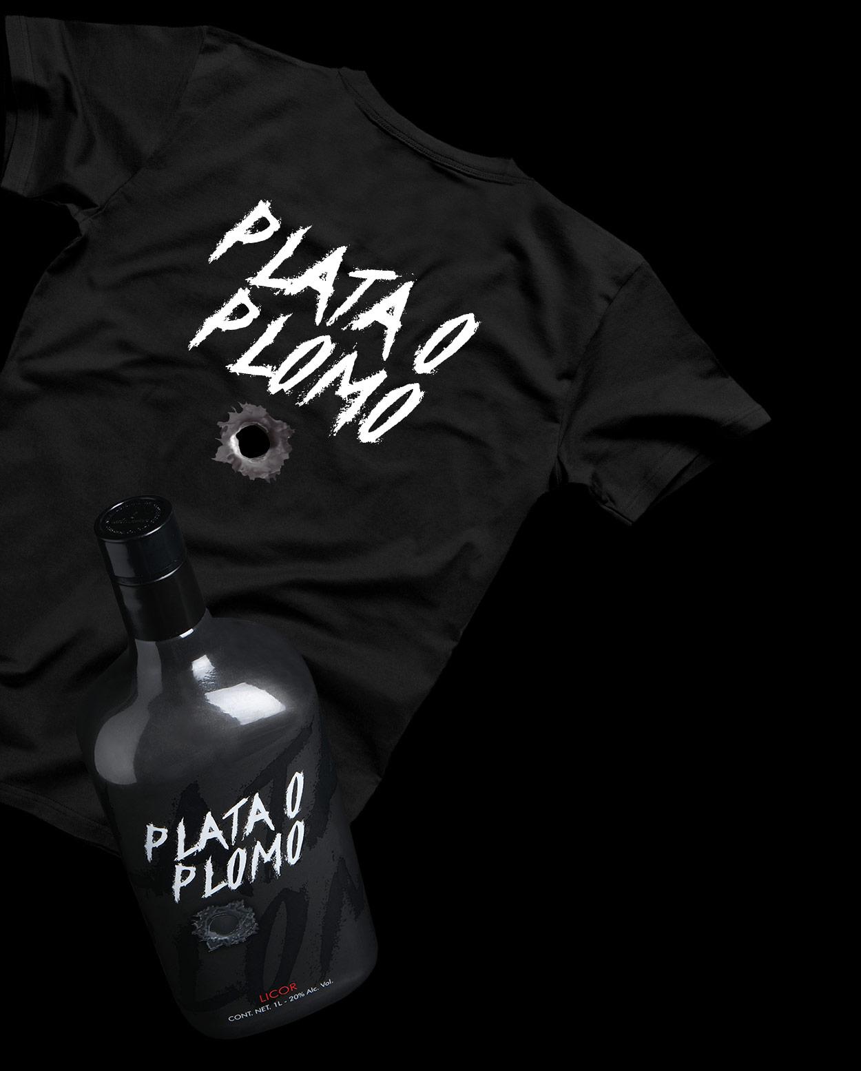 Image ofT-shirt +1l bottle pack